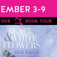 ~Black & White Flowers Book Tour~