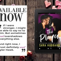 Release Blitz ~ The Player by Sara Hubbard