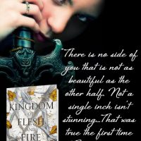 BLOG TOUR & GIVEAWAY ~ A Kingdom of Flesh and Fire: A Blood and Ash Novel by Jennifer L. Armentrout